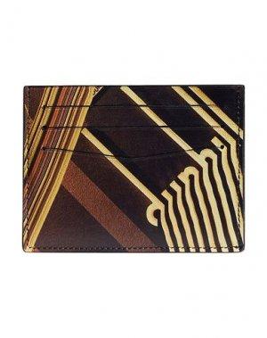 Чехол для документов DUNHILL. Цвет: темно-коричневый