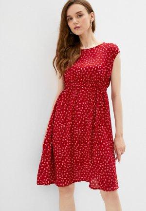 Платье Fest. Цвет: красный