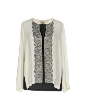 Блузка COCCAPANI TREND. Цвет: белый