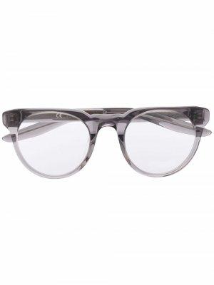 Round frame glasses Nike. Цвет: серый