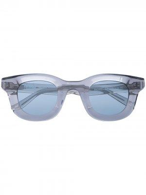 Солнцезащитные очки Rhodeo из коллаборации с Rhude Thierry Lasry. Цвет: серый