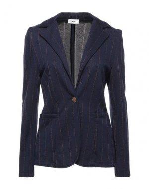 Пиджак B.YU. Цвет: темно-синий