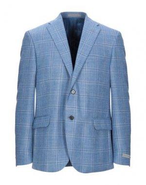 Пиджак NINO DANIELI. Цвет: небесно-голубой