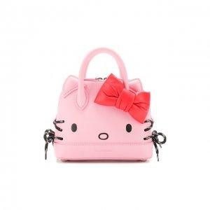 Сумка Hello Kitty XXS Balenciaga. Цвет: розовый