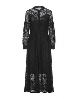 Длинное платье KAOS. Цвет: черный