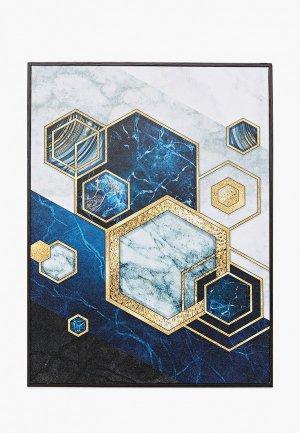 Картина Артвест 30х40 см. Цвет: синий