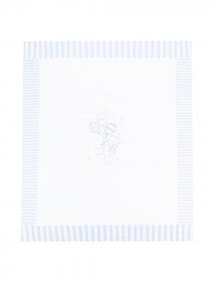 Одеяло с принтом Le Bebé Enfant. Цвет: синий