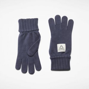 Перчатки Actron Knitted Reebok. Цвет: heritage navy