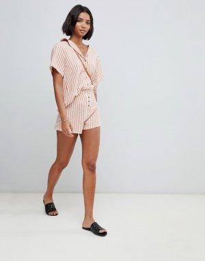 Пляжные шорты в полоску -Мульти Zulu & Zephyr