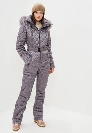 Комбинезон утепленный Conso Wear. Цвет: серый