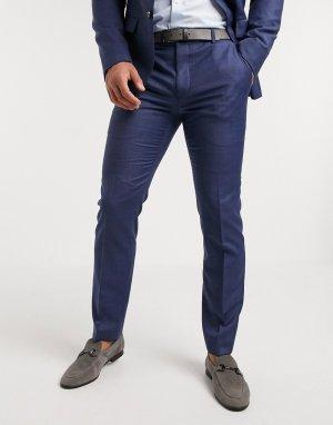 Эластичные брюки -Синий Calvin Klein