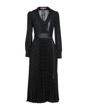 Платье длиной 3/4 BABYLON. Цвет: черный