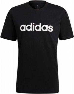 Футболка мужская adidas Essentials, размер 44-46. Цвет: черный