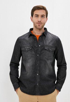 Рубашка джинсовая Whitney. Цвет: серый