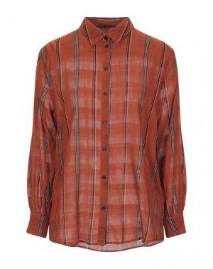 Pубашка BA&SH. Цвет: ржаво-коричневый