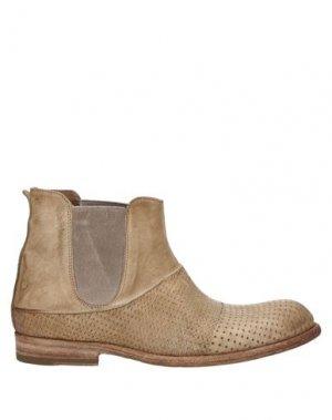 Полусапоги и высокие ботинки CORVARI. Цвет: песочный