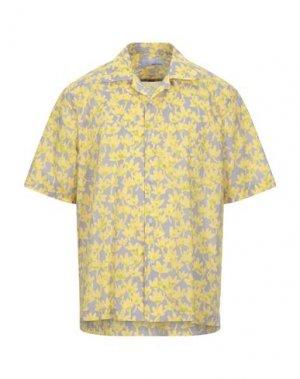 Pубашка BAND OF OUTSIDERS. Цвет: желтый