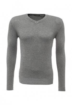 Пуловер Y.Two. Цвет: серый