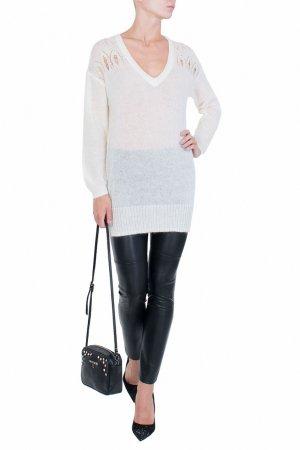Белый пуловер Patrizia Pepe