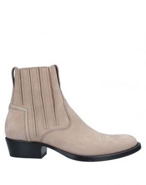Полусапоги и высокие ботинки BRUNO BORDESE. Цвет: бежевый
