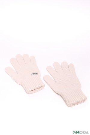 Перчатки Pezzo. Цвет: бежевый