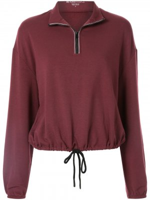 Укороченный пуловер By Request Beyond Yoga. Цвет: красный