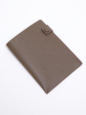 Обложка для паспорта 12STOREEZ. Цвет: кофе с молоком
