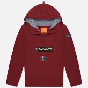 Мужская куртка анорак Rainforest Winter 2 Napapijri. Цвет: бордовый