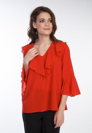 Блуза Irma Dressy. Цвет: красный
