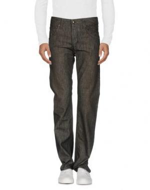 Джинсовые брюки HABITUAL. Цвет: серый