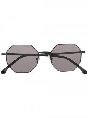 Солнцезащитные очки Monroe из коллаборации с Komono 10 CORSO COMO. Цвет: черный