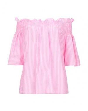 Блузка COMPAGNIA ITALIANA. Цвет: розовый
