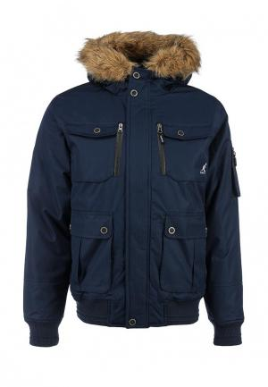 Куртка утепленная Kangol BEMFORD 2 MENS JACKET. Цвет: синий
