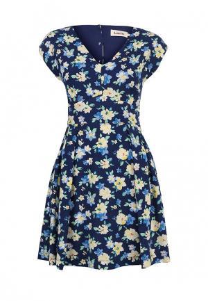 Платье Louche. Цвет: синий