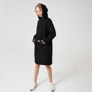 Верхняя одежда Куртка Lacoste. Цвет: черный