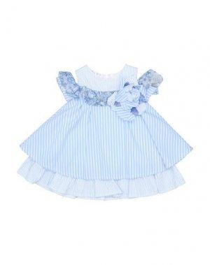 Платье ELSY. Цвет: лазурный