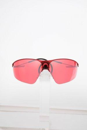 Солнцезащитные очки в квадратной оправе Marine Serre. Цвет: красный