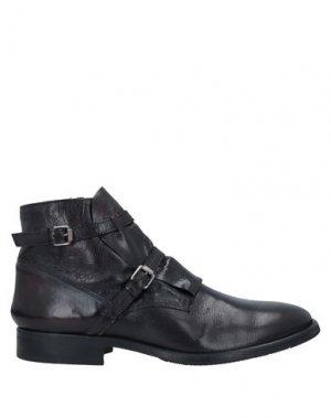 Полусапоги и высокие ботинки ERNESTO DOLANI. Цвет: черный