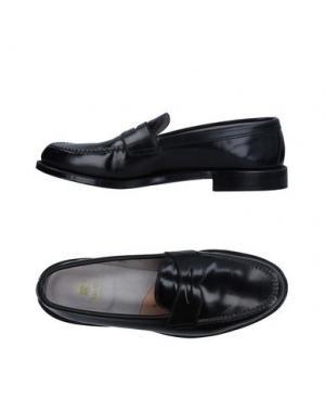 Мокасины ALDEN. Цвет: черный