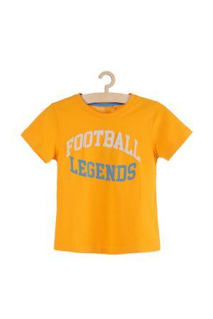 Футболка для мальчиков 5.10.15.. Цвет: оранжевый