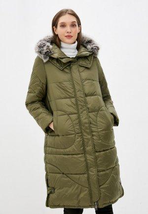 Куртка утепленная Taifun. Цвет: хаки
