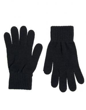 Перчатки French Connection. Цвет: черный