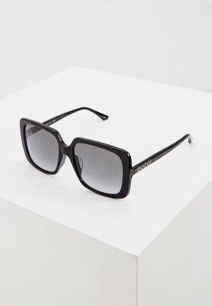 Очки солнцезащитные Gucci GG0728SA 001. Цвет: черный