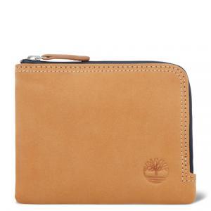 Мелкая и кожаная галантерея Waterproof zip wallet Timberland. Цвет: желтый