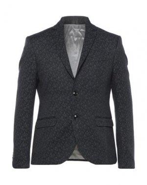 Пиджак TRUSSARDI. Цвет: черный