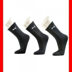 Носки 3 Pack PUMA. Цвет: черный