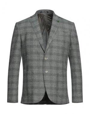 Пиджак EREDI DEL DUCA. Цвет: темно-зеленый