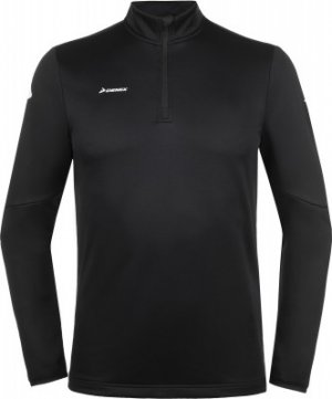 Джемпер футбольный мужской , размер 46 Demix. Цвет: черный