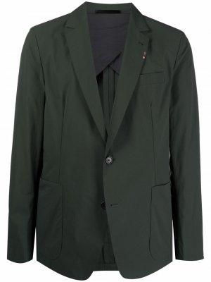 Однобортный пиджак PAUL SMITH. Цвет: зеленый