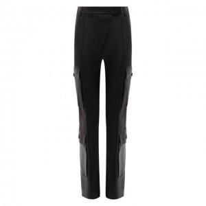 Кожаные брюки Kenzo. Цвет: чёрный